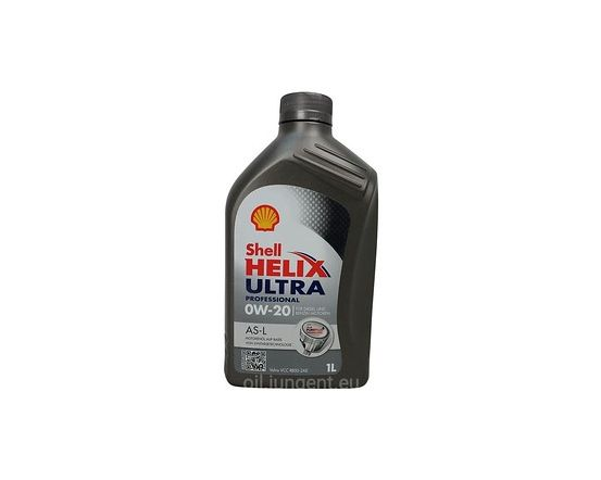 Shell HELIX Ultra Pro AS-L 0W-20 VCC 1L