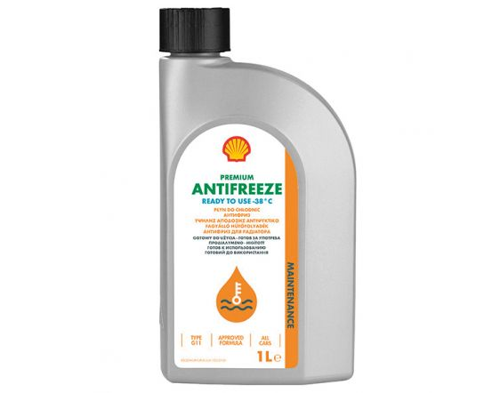 SHELL Premium Antifreeze774 C ready to use 1ltr